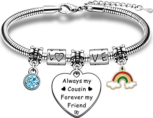 TTOVEN Cousins Bracelets,Cousins Gifts From Cousins Christmas Birthday...