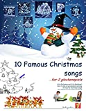 Ten Famous Christmas Songs for Two Glockenspiels (English Edition)