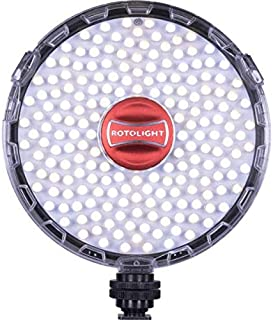 Rotolight NEO II On-camera LED Lighting Fixture, Light and Flash Modes