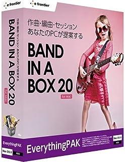 イーフロンティア Band-in-a-Box 20 for Mac EverythingPAK