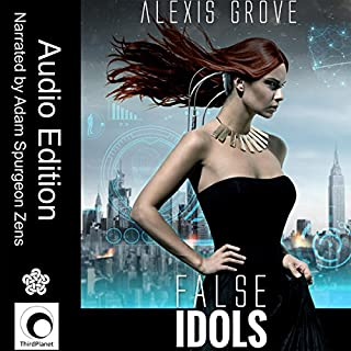 False Idols audiobook cover art