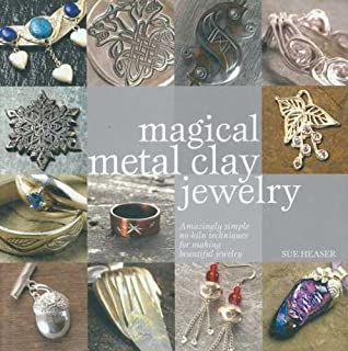 F&W Publications Krause - Magical Metal Clay Jewelry