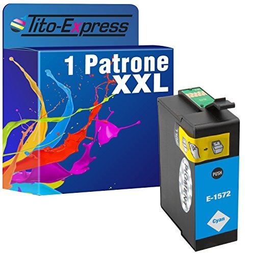 1Cartucho de tinta Cian XXL para Epson Stylus Photo R3000te1572platinumserie