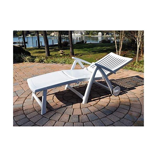 Kettler Roma Advantage Gartenliege – klappbare Sonnenliege für Garten, Terrasse und Balkon – Rückenlehne mehrstufig…