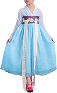 Girls Child Ancient Chinese Traditional Cosplay Costumes Hanfu Fancy Dress