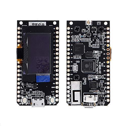 Condensadores Módulo WiFi inalámbrico OLED Bluetooth con Antena 868MHz ESP32 0.96 Pulgadas