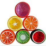 Eden Fghk 6PC Creative Fruit Crystal Clay Crystal Clay DIY Transparent Transparent 6 Colors Jelly mud Kid Toys