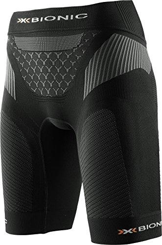 X-BIONIC Legging de Course pour Femme avec Grande Poche XS Noir/Anthracite