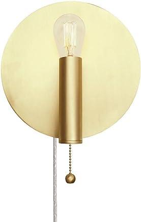 ART DECO   Applique Murale Laiton Brossé Ø20cm   Applique Globen Lighting  Designé Par Patrick Hall