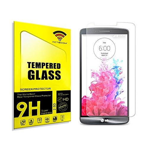 cogac Cristal Templado Protector Compatible con LG G3 0.2mm