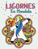 Licornes En Mandala: Mandala Licornes Livre de coloriage pour les enfants | Mandala Enfant | Livre de Coloriage Mandalas et licornes Faciles pour Enfants