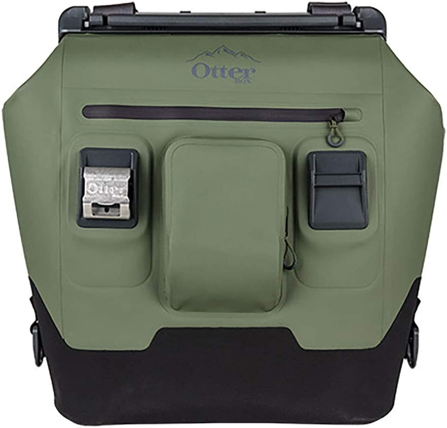 OtterBox 30-Quart Softside Trooper Cooler with Leakproof Seal and Carry Strap, Alpine Ascent Green