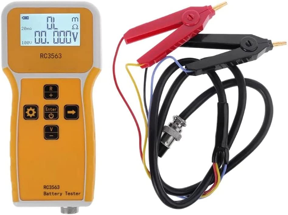 TWDYC RC3563 Handheld Battery Free shipping on posting reviews Analyze Super-cheap Tester Resistance Internal