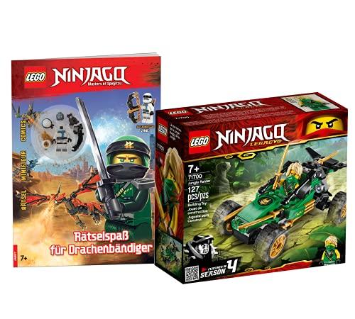 Lego NINJAGO 71700 Legacy Lloyds Animales de la jungla + Atrayecto en Ninjago City