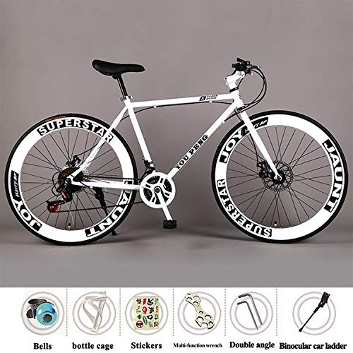 YI'HUI Bicicleta de Carretera de Carbono, Bicicleta de Carretera Fibra de Carbono con Sistema de Cambio 21-Velocidad,Neumáticos Continental Ultra Sport
