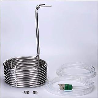 LGR Tube de Refroidisseur de moût d'immersion en Acier Inoxydable 304 pour Le Brassage à la Maison