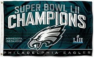 Fremont Philadelphia Eagles Super Bowl LII 52 Champions Banner Flag - 3' X 5'