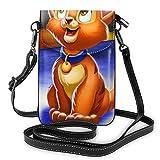Oliv-er and C-ompany - Bolso bandolera de piel para teléfono celular, bolsa de viaje con Cred.