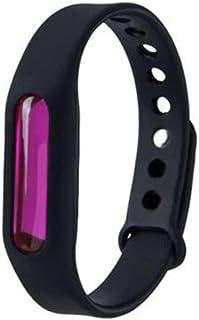 LRUIJIE Mosquito Repellent Bracelet Pest Repellr Electronic Mosquito Repeller Anti Mosquito Bracelet Wristband Child//adult black