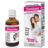 Damiana Ultra Drops for Female | Highest Potency and Purity on The Market | 2. Fl oz | for Weight Management,Libido,Energy and Vitality. Homeopathic Medicine