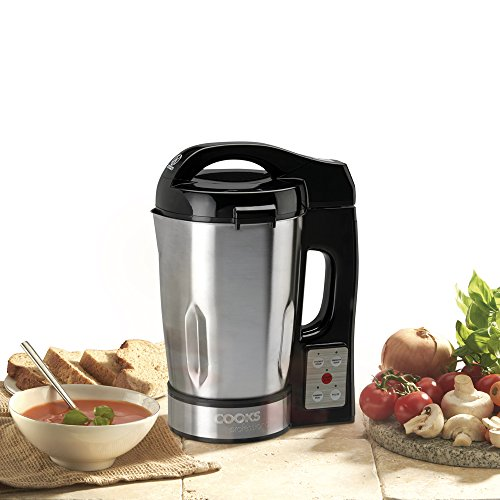 Picture of Cooks Professional Electric Kitchen Easy Soup Maker Machine (Stainless Steel Jug 1050W)