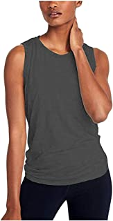 SFE Women's Sexy Backless Blouse Summer Lightweight Breathable Fitness Jogging Athletic Tank Workout Casual Tops