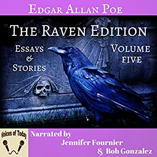 The Works of Edgar Allan Poe, Volume Five: The Raven Edition cover art