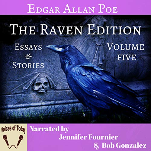 『The Works of Edgar Allan Poe, Volume Five: The Raven Edition』のカバーアート