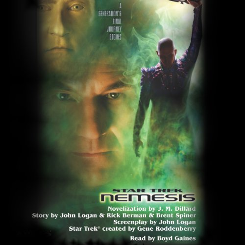 Star Trek: Nemesis (Adapted) audiobook cover art