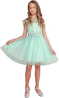 Calla Collection USA DRESS ガールズ カラー: グリーン