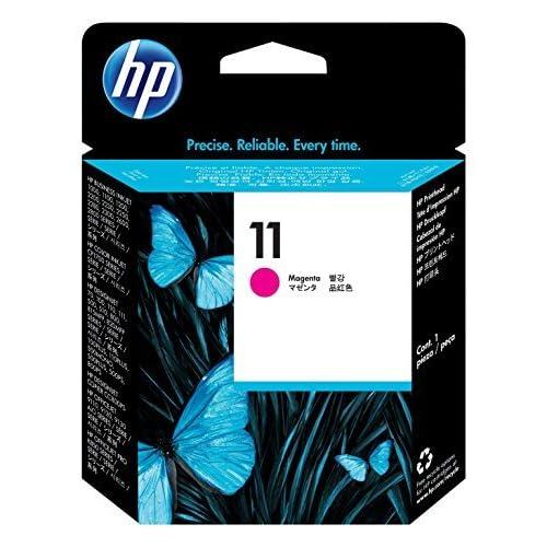 HP 11 C4812A Cartuccia Originale per Stampanti a Getto di Inchiostro, Compatibile con 2500cm, Business Inkjet 3000dtn, Designjet 815 e 820 MFP, Designjet Serie 500 e 500 Plus, Magenta