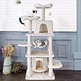 POTBY 67'Multi-Level CatTree, Pet Play House Climber Heavy Duty Activity Centre Large Size Tower...