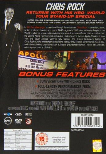 Chris Rock: Kill the Messenger [Deluxe Edition] [DVD] [2008] [2009]