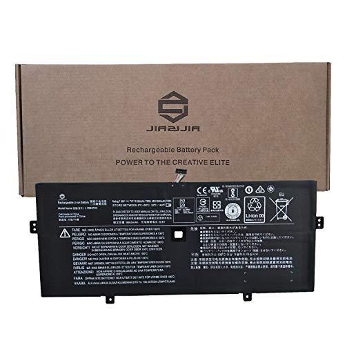 JIAZIJIA L15M4P23 Laptop Battery Replacement for Lenovo IdeaPad Yoga 910-13IKB Series Notebook 5B10L22508 L15M4P21 L15C4P22 L15C4P21 Black 7.68V 78Wh 10160mAh