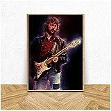 A&D Eric Clapton Music Star Kunst Leinwand Poster Malerei