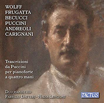 Transcriptions of Puccini for Piano 4 Hands