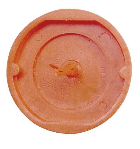 Kopp 357001507 Signaldeckel für Schalterdose, ø 60 mm, Profi-Pack: 25-Stück im Beutel, rot