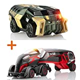 Toy Cars Overdrive Set - Big Bank Expansion Car and a Super Truck X-52 - Ultimate Gift for Boys and Gilrs Who Love Cars