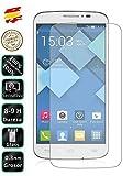 Movilrey Protector para Alcatel One Touch Pop 3 5.0 Cristal Templado de Pantalla Vidrio 9H para movil