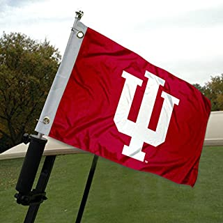 College Flags & Banners Co. IU Hoosiers Golf Cart and Boat Flag