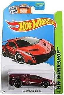 Hot Wheels, 2015 HW Workshop, Lamborghini Veneno [Maroon] Die-Cast Vehicle #189/250 by Hot Wheels
