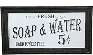 Ohio Wholesale Vintage Bath Advertising Wall Art, from Our Americana Collection, from Our Americana Collection-White Background