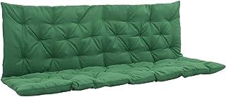 UnfadeMemory Cuscino per Sedia a Dondolo o Amaca da Giardino Verde 100 cm