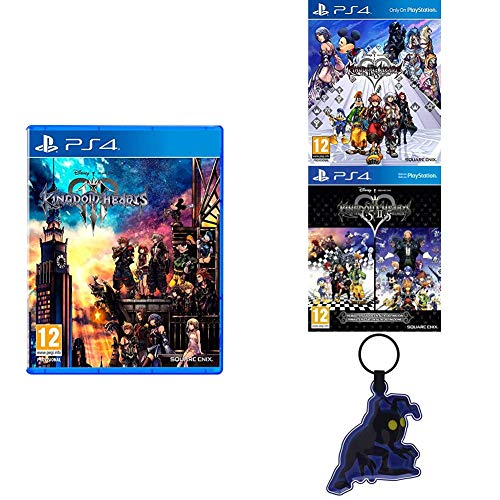 Kingdom Hearts 3 - PS4 + Kingdom Hearts 2.8 Final Chapter Prologue + Kingdom Hearts HD 1.5 + 2.5 ReMIX + Llavero -Kingdom Hearts 3