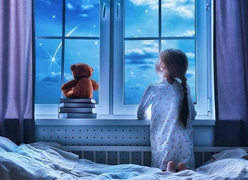 neues Puzzle 500 Teile Puzzles für Erwachsene Holzfenster Kleines Mädchen-Kinder Kunst Freizeitspiel Spaß Spielzeug Geschenk Geeignete Familie FrienORFITNG12