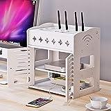 FUTER Estante Flotante TV Conjunto-Top-Top WiFi Caja de...