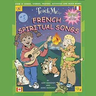 Teach Me French Spiritual Songs audiobook cover art