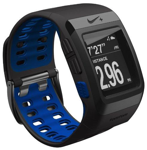 TomTom Nike+ Sportswatch GPS - GPS para carrera, color negro   azul