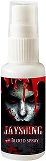 JERKKY Decoraciones de Halloween 30ml Spray de Sangre Falsa Realista Fiesta de Halloween Maquillaje Salpicadura Sangre Accesorios de decoración hematopoyética Decoración