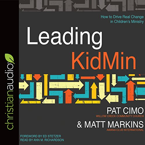 Leading KidMin audiobook cover art